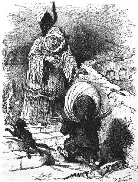 Der kleine Muck, Märchen von Wilhelm Hauff, Illustration Bertall