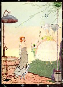 Les Fees (Die Feen). Märchen von Charles Perrault, Illustration Harry Clark