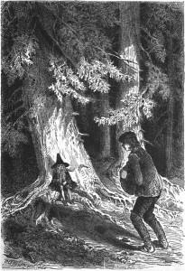 Das kalte Herz, Märchen von Wilhelm Hauff, Illustration Carl Offterdinger