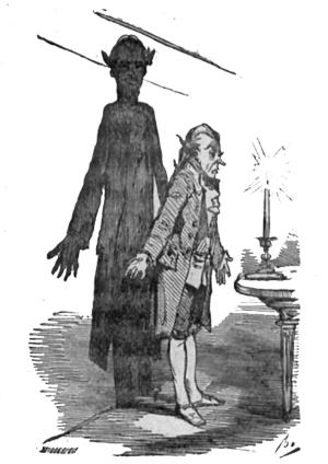 Der Schatten, Märchen von Hans Christian Andersen, Illustration von Bertall