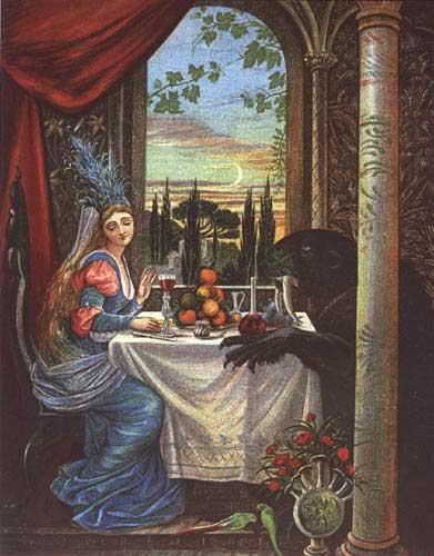 Illustration von Eleanor Vere Boyle zu dem Märchen Die Schöne und das Biest