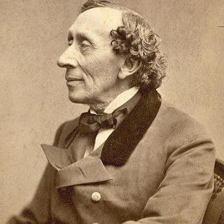 Hans Christian Andersen (Porträt aus dem Jahr 1869)