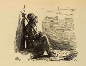 Die Galoschen des Glücks, Märchen von Hans Christian Andersen. Illustration Vilhelm Pedersen