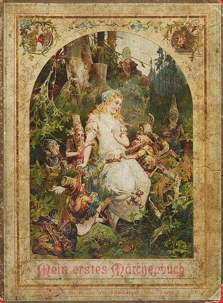 Märchenbuch (Cover), Offterdinger, Leutemann