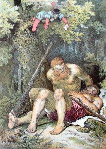 Das tapfere Schneiderlein. Illustration Alexander Zick