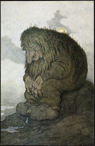 Troll, Theodor Kittelsen