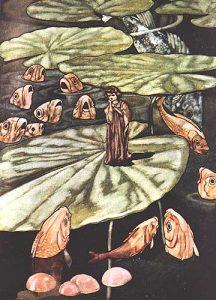 Däumelinchen (Thumbelina), Märchenbilder von Charles Robinson