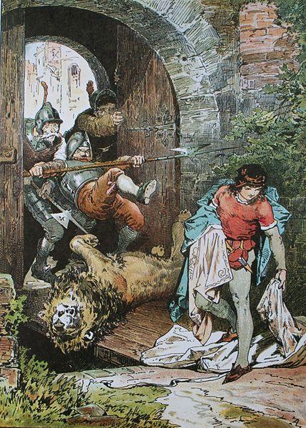 Das Märchen von Witzenspitzel, Clemens Brentano, Illustration Alexander Zick