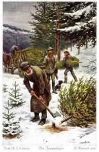 Der Tannenbaum, Märchen von Hans Christian Andersen. Märchenbilder von Oskar Herrfurth