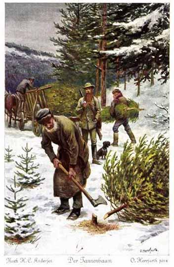 Märchen Von Hans Christian Andersen Der Tannenbaum.Der Tannenbaum Märchenatlas