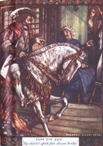 Ricdin-Ricdon, französisches Märchen. Illustration Herbert Cole