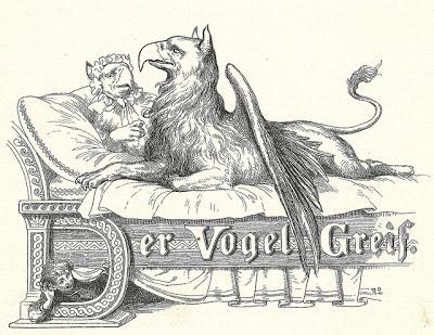 Illustration von Robert Leinweber zu dem Märchen Der Vogel Greif von den Brüdern Grimm