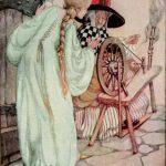Dornröschen, Illustration Anne Anderson