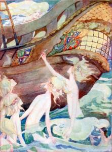 Die kleine Seejungfrau, Märchen von Hans Christian Andersen. Märchenbilder von Anne Anderson