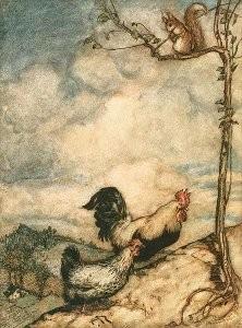 Das Lumpengesindel, Märchen der Brüder Grimm, Illustration Arthur Rackham