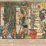Die schlafende Schöne im Wald, Illustration Walter Crane
