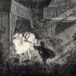 Die schlafende Schöne im Wald, Illustration Gustave Doré
