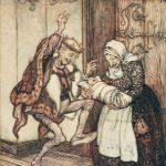 Dornröschen, Illustration von Arthur Rackham