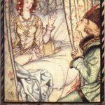 Dornröschen, Illustration Arthur Rackham