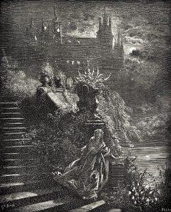 Eselshaut, Märchen von Charles Perrault. Märchenbilder von Gustave Doré
