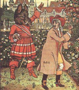 Von dem Sommer- und Wintergarten, Illustration Walter Crane