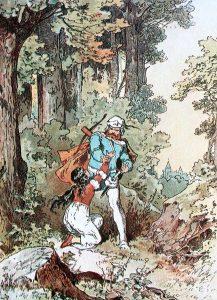Schneewittchen, Illustration Alexander Zick