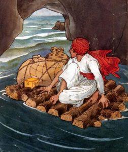 René Bull, Sindbad der Seefahrer, Tausendundeine Nacht