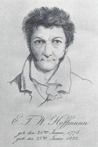 E.T.A. Hoffmann, Selbstporträt