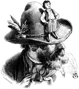 Daumesdick. Illustration Philip Grot-Johan