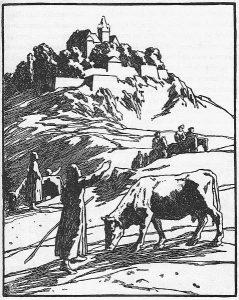 De drei Vügelkens, Illustration Otto Ubbelohde