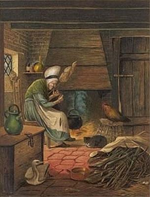 Illustration von Eleanor Vere Boyle zu dem Märchen Das hässliche Entlein