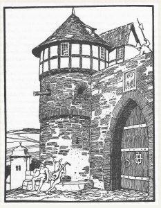 Das Eselein, Illustration Otto Ubbelohde