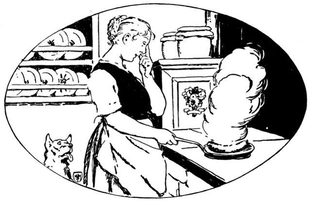 Illustration von Otto Ubbelohde zu dem Märchen Frieder und das Katherlieschen