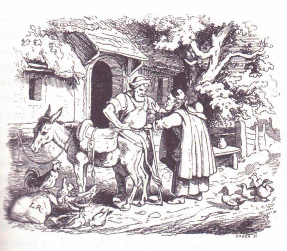 Der Schmied vom Jüterbogk, Illustration von Ludwig Richter