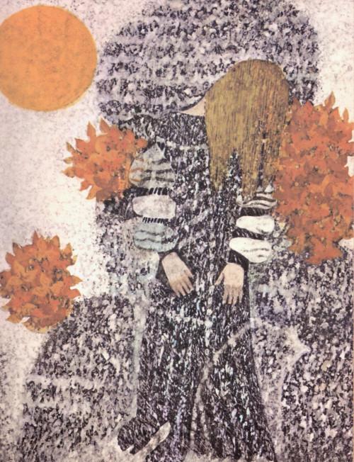 Die Regentrude ist eingeschlafen. Illustration Jan Kudláček